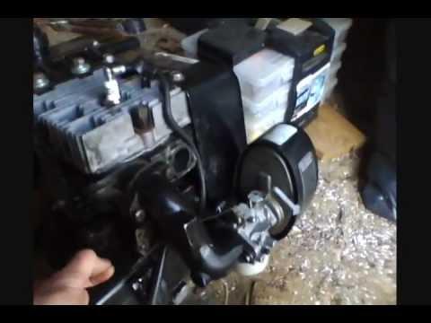 tiller wiring diagram tecumseh hm100 10 hp engine running youtube  tecumseh hm100 10 hp engine running youtube