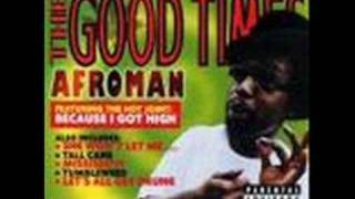 Watch Afroman The American Dream video