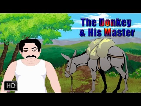 Jataka Tales - Short Stories For Children - The Donkey And His Master - Animated Cartoons kids video