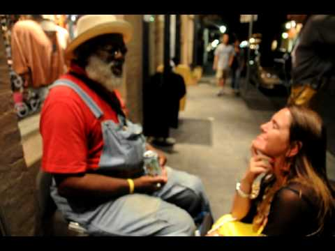 Gandpa Elliot sings Ipanema Girl for brazilian author Claudia Riecken In New Orleans June 2010.AVI Music Videos