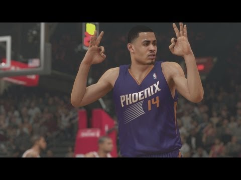 NBA 2K14 PS4 My Career - My 1st Signature Skill