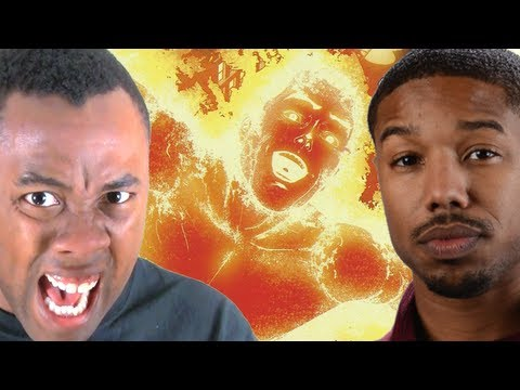 HUMAN TORCH is BLACK?? (Fantastic Four Reboot) - Black Nerd RANTS