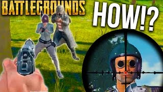BATTLEGROUNDS MAD CLUTCHES + LUCKY KILLS | Player Unknown's Battlegrounds Gameplay