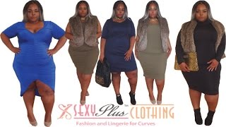 SexyPlus Clothing | Review, Try-On, Styling/LookBook | Plus Size | Lingerie, Dresses,  Faux Fur