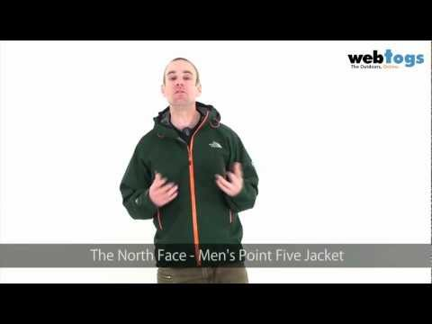 The North Face Men's Point Five Jacket - Mountaineering Goretex Pro Shell Jacket.