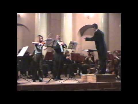 Bach: Concerto for Oboe and Violin in C minor, BWV 1060R ??????? ????? ????????