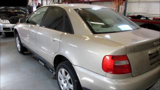 In for Parts: 1998 Audi A4 1.8L Inventory#229928