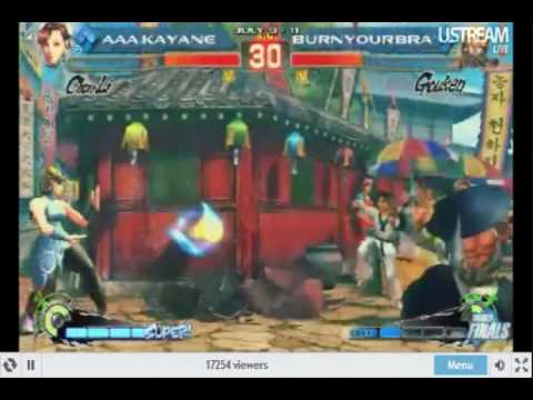 Evo 2010 Super Street fighter 4 Girl Event Winners Finals AAA. Kayane Vs BurnYourBra Part 2 Video
