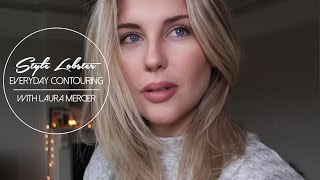 How To: Everyday Contouring Tutorial with Laura Mercier Flawless Contouring Palette || Style Lobster