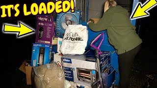 Bed Bath and Beyond Dumpster Was Loaded!  Here's What's Inside!
