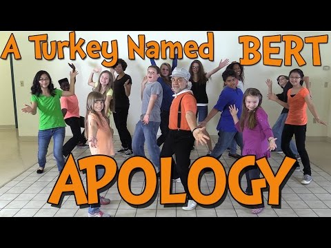 A Turkey Named Bert Apology - The Learning Station