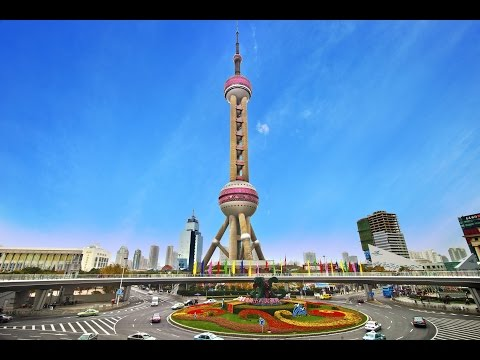 Oriental Pearl Tower, Huangpu River, Pudong district, Shanghai, China, Asia