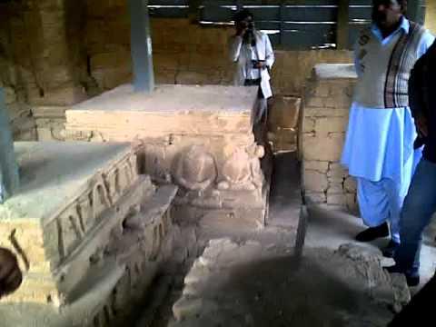 The ancient Buddhist monastery at Julian / Jaulian in Taxila.