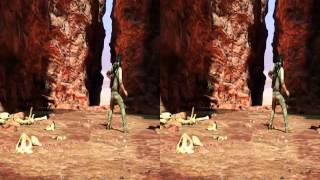 Uncharted 3 | Mission 20 | Caravan | Stereoscopic 3D Gameplay (Uncharted 3 3D Gameplay)