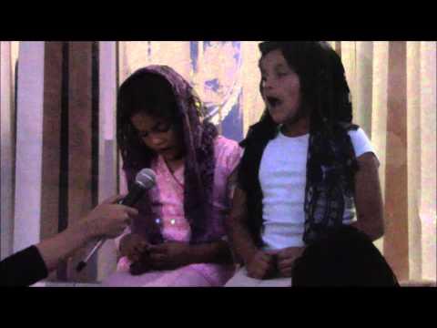 Emotiva Entrevista a 2 Niñas LLDM de Honduras