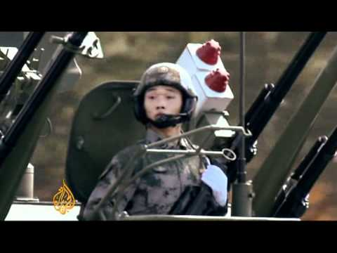 China's growing military might