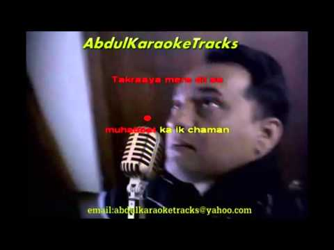 Rukh Se Jara Naqaab Utha Do Karaoke video