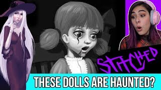 CREEPY DOLLS Are After Us In This CUTE Horror Game - Stitched Ep2
