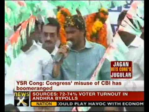NewsX- CVoter exit poll: Jagan set to sweep by-elections - NewsX