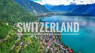 Switzerland seen from the Sky - 4K DJI Phantom 4