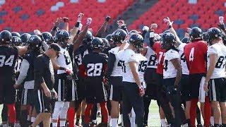Ottawa Redblacks Practice: Football is the ultimate team sport