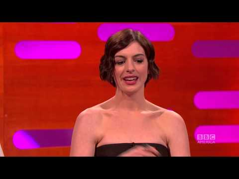 Anne Hathaway Can't Pronounce 'Orgy' - The Graham Norton Show on BBC America