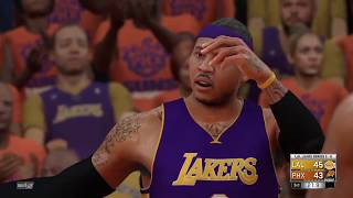 NBA 2K17 Los Angeles Lakers vs Phoenix Suns Game 3 Western Conference Finals