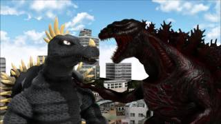 (MMD Shorts) Godzilla Returns