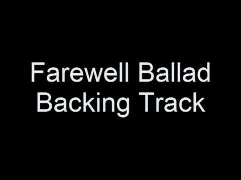 Zakk Wylde  Farewell Ballad Backing Track