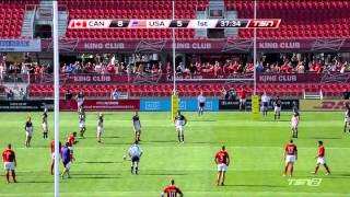 Rugby WC 2015 Qualifier Canada v USA Game 2