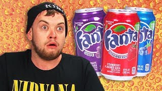 Irish People Taste Test American Fanta