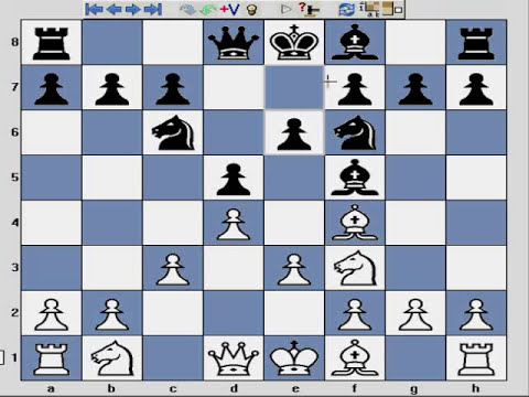 Chess opening London System - part 9 - trap - disaster on b6 - provoking weakness!