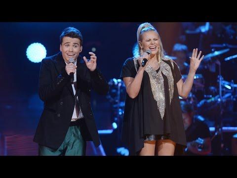 """The Voice of Poland VI - Krzysztof Iwaneczko i Maria Sadowska - """"Cheek to Cheek"""" - Finał"""