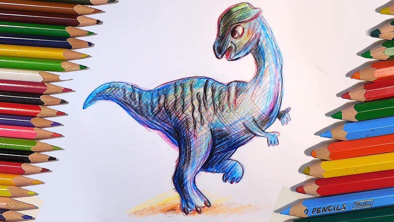 Урок рисования цветными карандашами поэтапно
