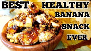 BEST EASY & HEALTHY BANANA SNACK EVER|FAVORITE SNACK|GUILT FREE|VEGAN|RAW VEGAN|FROZEN BANANAS|