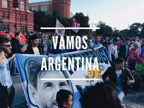 Аргентинцы в Москве #ЧМ2018