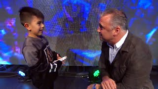 Shane McMahon surprises young fan with Royal Rumble tickets: WWE Exclusive, Jan. 26, 2019