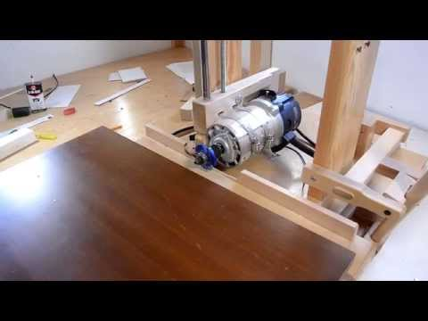 Horizontal router table for the slot mortiser save money for Table th horizontal