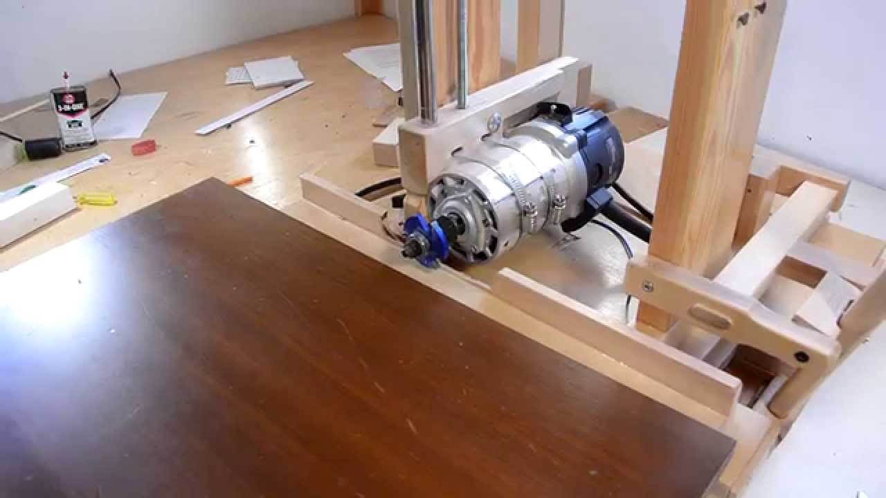 Horizontal router table for the slot mortiser youtube for Table th horizontal