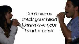 Baixar - Glee Give Your Heart A Break Lyrics Grátis