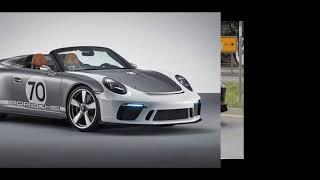 2018 Porsche 911 Speedster Concept   Speedster models begins in the USA