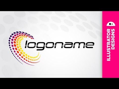 Adobe Illustrator // simple logo 12