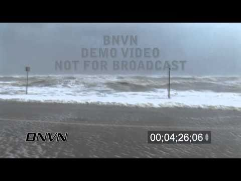 Hurricane Ike - Galveston, TX pre storm video - Part 1