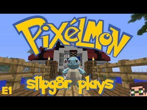 MineCraft Pixelmon E1 Squirtle LOL Pokemon Mod