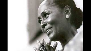 "Shirley Verrett, operatic star, sings ""Oh Freedom"""