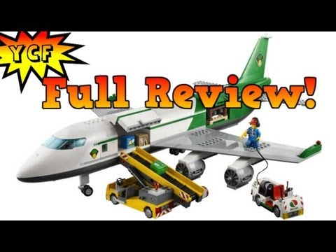 LEGO CITY Cargo Terminal Review - LEGO 60022 Airplane
