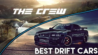 THE CREW | Top 5 BEST cars for drifting in The Crew! (PS4 Gameplay)