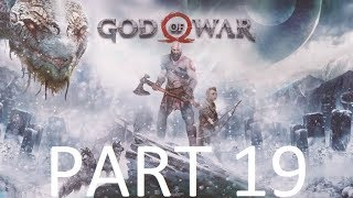 GOD OF WAR Walkthrough Gameplay Part 19 - ESCAPE FROM HELHEIM (PS4 Pro)