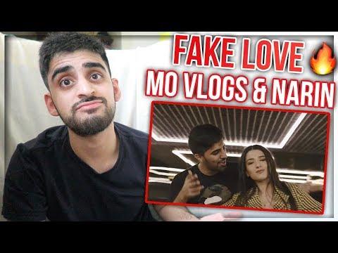 Download Mo Vlogs ft Narins Beauty - Fake Love    2019 REACTION Mp4 baru
