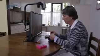 Desktop Video Magnifier Optelec MultiView HD